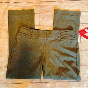 Candie's Marilyn bootcut gray dress pants …